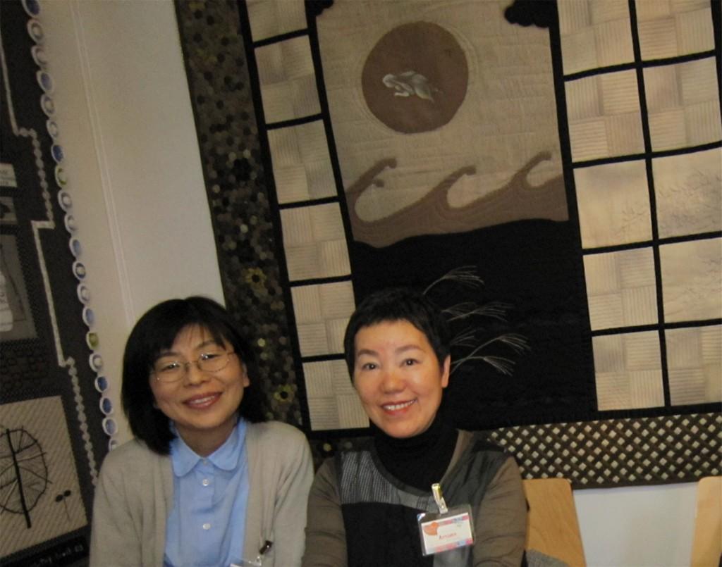 les artistes Yoshie et Hitomi avient fait le déplacement en France à cette occasion