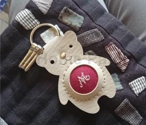porte clé initiale