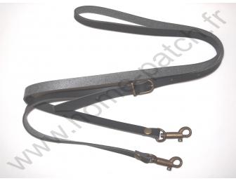 Anse de sac bandoulière noire 1 cm