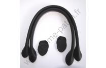 Anses de sac 40 cm coloris noir