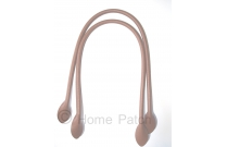 Anses de sac à coudre 60 cm coloris marron