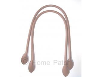 Anses de sac 60 cm à coudre coloris marron