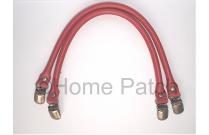 Anses de sac clip bretelle 40 cm couleur rouge profond