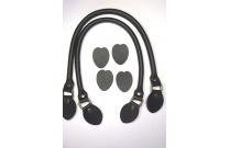 Anses de sac 48 cm coloris noir