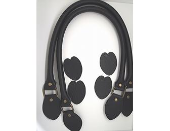 Anses de sac 60 cm coloris noir