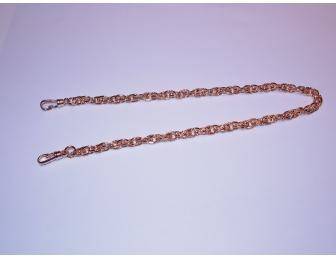 Chaînette dorée 36 cm