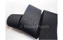 Galon de tatami noir moiré