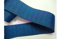 Galon tatami strié bleu électrique