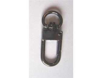 Mousqueton cadenas bronze 9mm