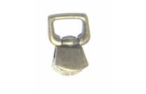 Clip laiton rectangulaire articulé