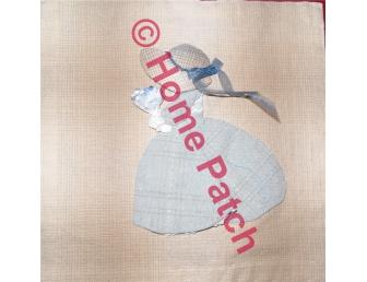 Kit patchwork en appliqué Sunbonnet à la capeline
