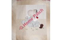 Kit patchwork en appliqué Sunbonnet à la coccinelle
