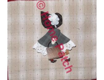Kit patchwork japonais en appliqué Sunbonnet avec sac à main