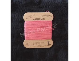 Fil à coudre rose vif pour anses et accessoires