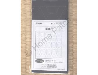 Kit broderie Sashiko H-2013 motif diamant fond indigo