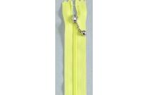 Fermeture éclair jaune fluo