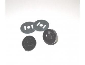 Aimant à clipser 12 mm