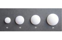 Bouton résine à recouvrir mélange 5 tailles