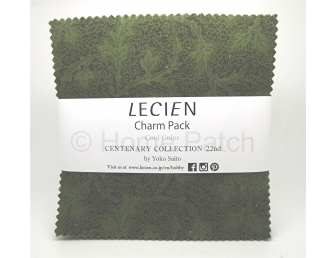 Charm Pack Lecien Centenary Collection 22nd Cool Color par Yoko Saito