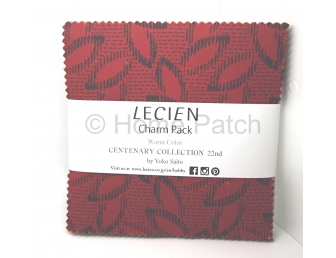 Charm Pack Lecien Centenary Collection 22nd Warm Color par Yoko Saito