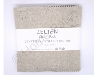 Charm Pack Lecien Centenary Collection 21st Warm Color par Yoko Saito