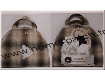 Kit sac patchwork japonais trousse à couture