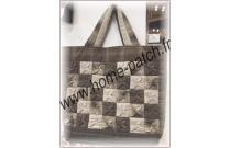 Kit sac patchwork japonais carrés pliés