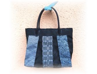 Kit Sac Kansaï petit modèle en galon de tatami coloris noir