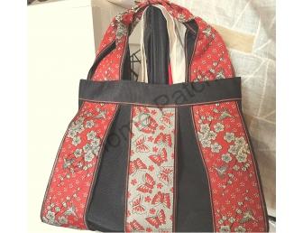Kit Sac Kansaï petit modèle en galon de tatami coloris rouge