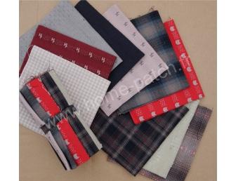 Lot coupons tissus japonais tissés