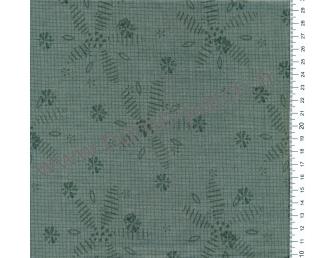 Tissu patchwork japonais Lynette Anderson pour Lecien vert lichen