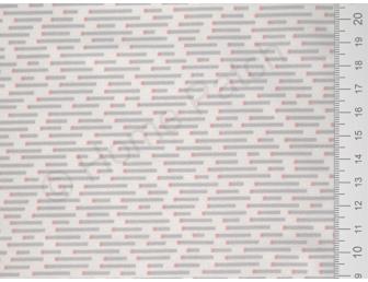 Tissu japonais patchwork Daiwabo rayures grises fond écru