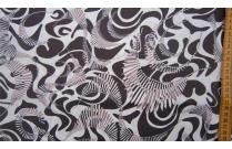Tissu patchwork japonais Kei Fabrics marron et écru