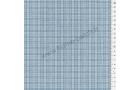 Tissu patchwork japonais LECIEN tissé écossais bleu gris