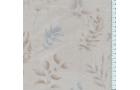 Tissu patchwork japonais LECIEN feuillages fond beige clair