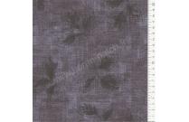 Tissu patchwork japonais LECIEN imprimé feuilles gris anthracite