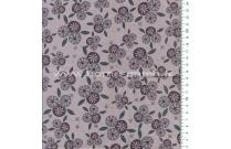 Tissu patchwork japonais Lynette Anderson pour Lecien fleurs fond rose