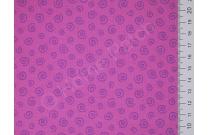 Tissu japonais patchwork LECIEN mauve petites spirales