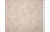 Tissu patchwork japonais LECIEN beige rosé avec feuilles