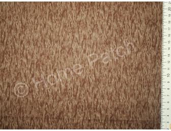 Tissu patchwork japonais LECIEN écorce marron