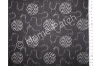 Tissu patchwork japonais LECIEN avec cercles fond noir