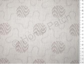 Tissu patchwork japonais LECIEN avec cercles fond gris clair