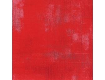 Tissu japonais patchwork MODA Grunge rouge clair vif