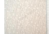 Tissu patchwork imprimé moderne fond écru
