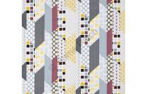 Tissu patchwork moderne Moda Chic Neutral géométrique