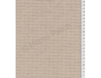 Tissu patchwork japonais tissé petit écossais beige