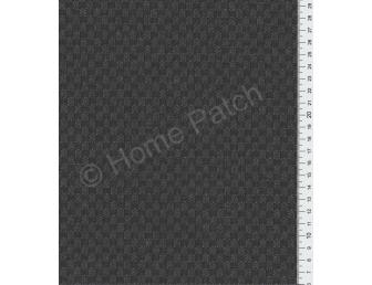 Tissu patchwork japonais tissé gris anthracite