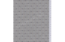 Tissu patchwork japonais tissé gris bleuté