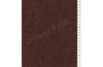 Tissu patchwork japonais tissé rayé noir et marron ocre