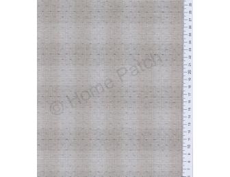 Tissu patchwork japonais tissé petits points gris sur gris